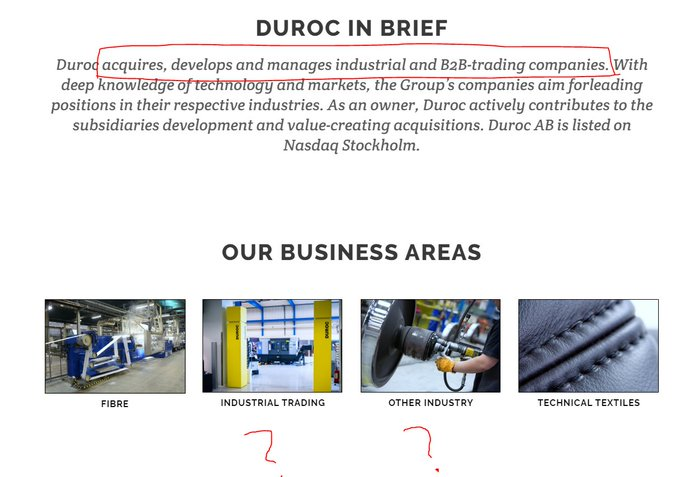 Analys av Duroc